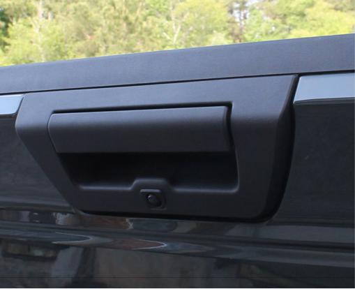 2015-2016 F150 Tailgate Handle Camera